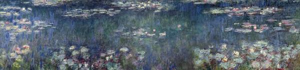 Waterlilies Green Reflections 1914 18 Claude Monet As
