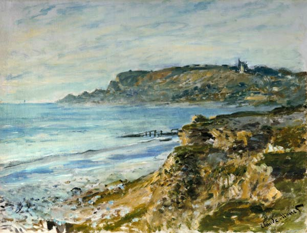 Seascape Sainte Address Claude Monet As Art Print Or
