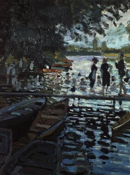 Bathers at La Grenouillere - Claude Monet as art print or ...