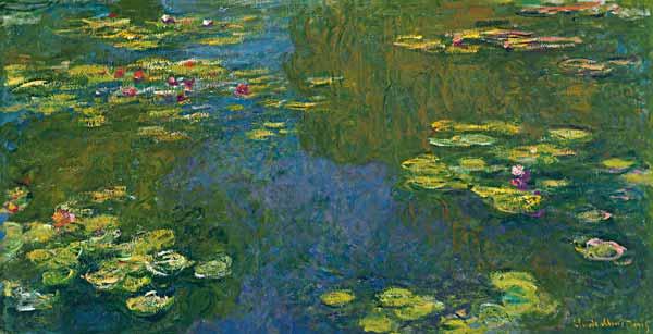 Der Seerosenteich Le Bassin Aux Nymphea Claude Monet As Art Print