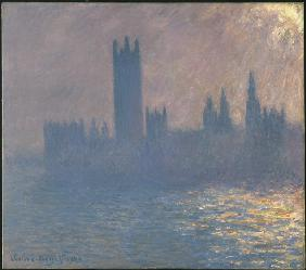 Houses of Parliament, Sunlight Effect (Le Parlement, effet de soleil)