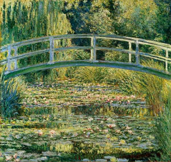 Water Lilies Giverny, Water-Lily Pond - painting of Claude ...