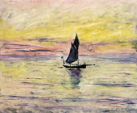 The Sailing Boat, Evening Effect