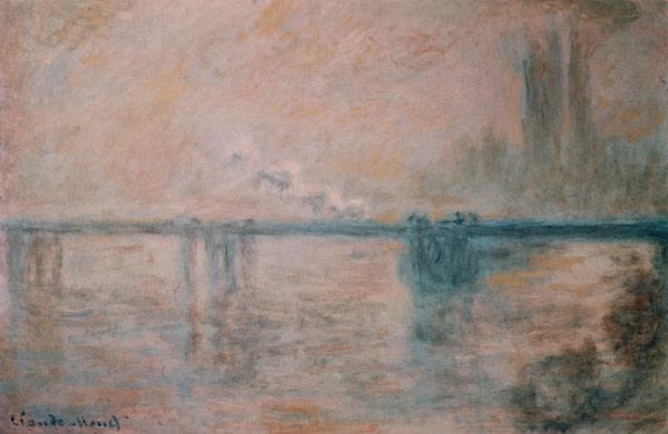 C.Monet, Charing Cross Bridge