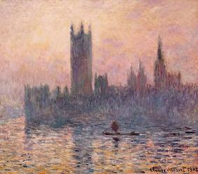 Houses of Parliament, Sunset 1903
