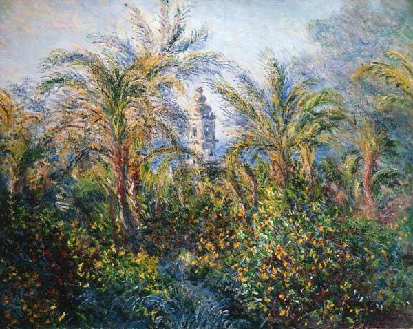 Garden in Bordighera, Impression of Morning