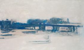 Study for Charing Cross Bridge