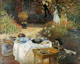 The Lunch (in Monet's Garden in Argenteuil)