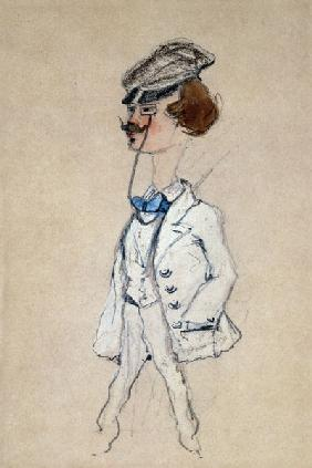 Young Man with a Monocle