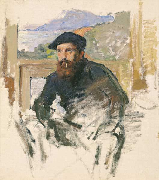 Self Portrait in his Atelier