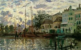 The Dam at Zaandam, Evening
