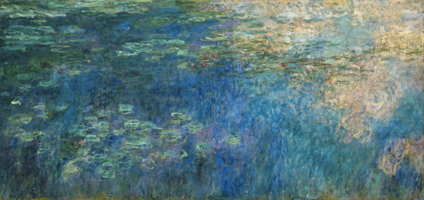 Water Lilies Claude Monet As Art Print Or Hand Painted Oil