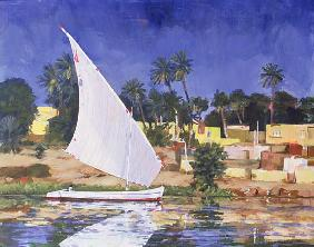 Egypt Blue (oil on canvas)