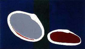 Go Discs II, 1999 (acrylic on canvas) (pair of 135005)