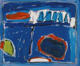 Sea Saw, 1996 (oil on board)
