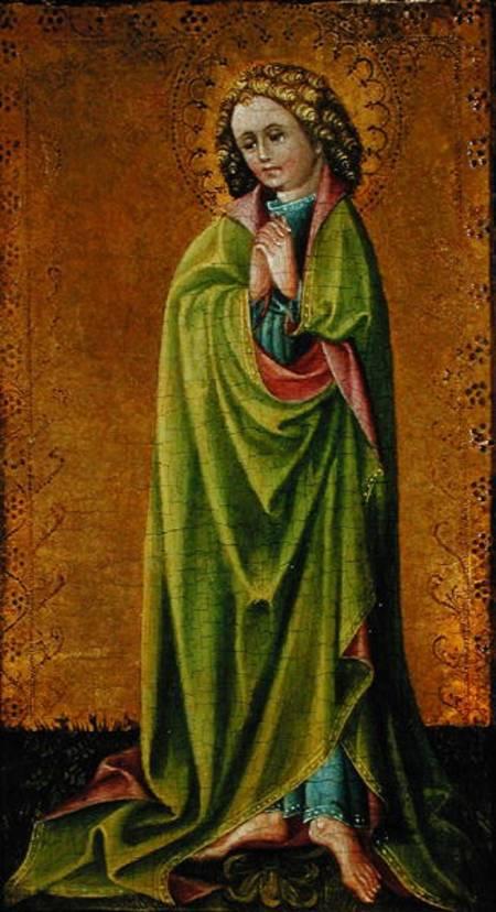St  John the Evangelist - Cologne School as art print or