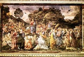 The Sermon on the Mount, from the Sistine Chapel