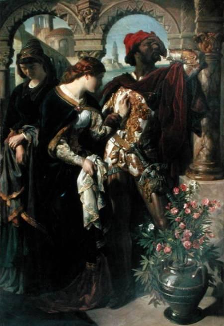 Image  Daniel Maclise - Othello  Desdemona and EmiliaOthello And Desdemona Art