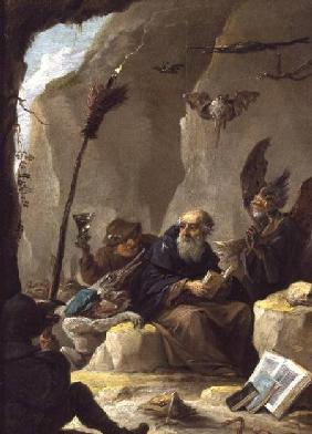 Teniers, David : The Temptation of St. Anth...
