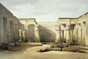 Madinat Habu, Temple of Ramses , Roberts