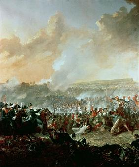 The Battle of Waterloo, 18th June 1815 (detail of 209202)