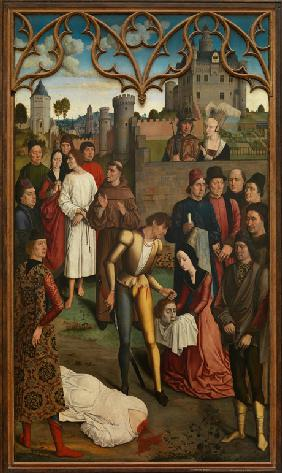The Justice of Emperor Otto III: Beheading of the Innocent Count