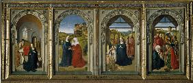 Four scenes from the life of the Virgin