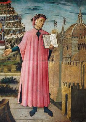 Dante reading from the 'Divine Comedy' (detail)