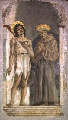St. John the Baptist and St. Francis of Assisi