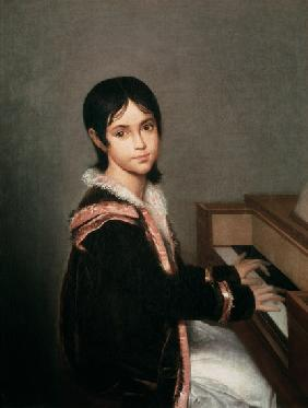 The Artist's Daughter at the Piano