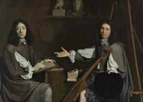 Double Portrait of both Artists