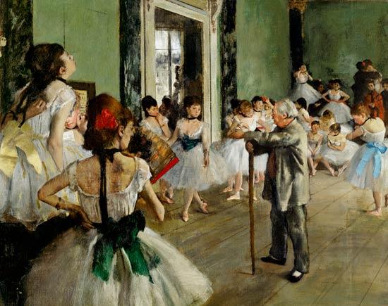 E Degas La Classe De Danse 1873 76 Det Edgar Degas As