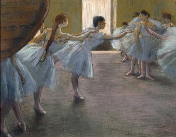 Ballet Exercises Edgar Degas As Art Print Or Hand