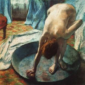 Woman in the bathtub