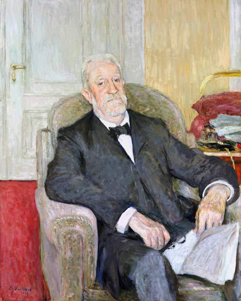 Senator Eduard Wilhelm Ludwig Heinrich Roscher (1838-1929) 1913 (oil on canvas)