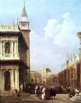 Venice from the Piazzetta looking towards Codussi's Clock Tower