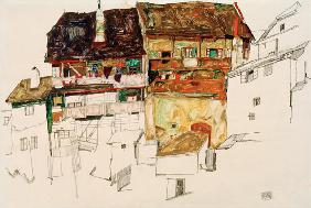 Old Houses in Krumau