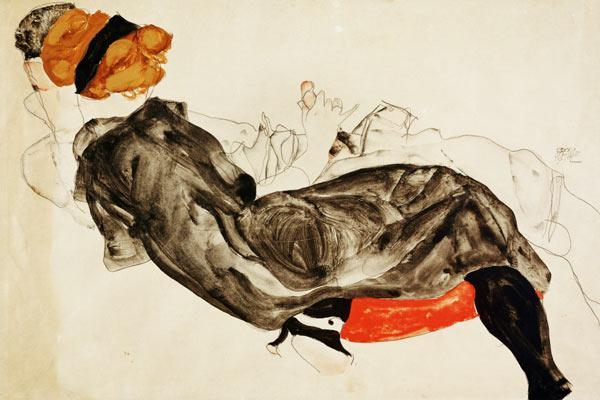 Anna pawlowa max slevogt as art print or hand painted oil for Egon schiele pittore