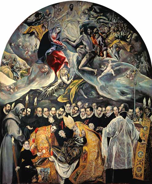 Funeral Of The Count Of Orgaz
