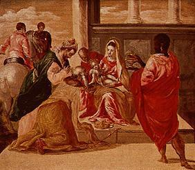 Adoration of the St. three kings