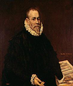 Portrait of the doctor Rodrigo de of La Fuente