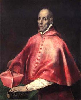 Portrait of the cardinal Tavera
