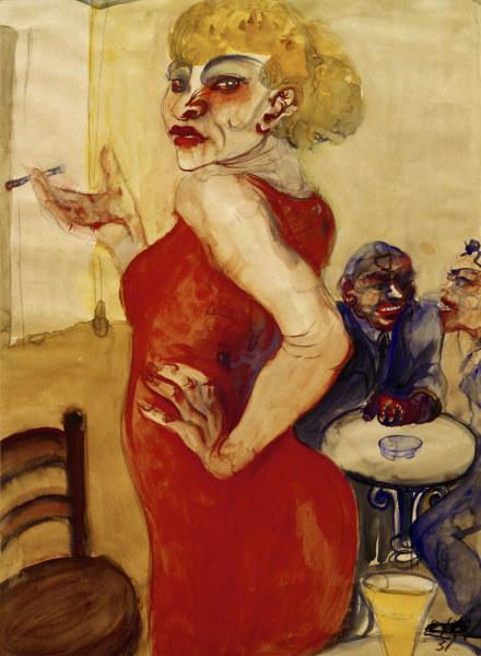 Lissy 1931 Elfriede Lohse Waechtler As Art Print Or