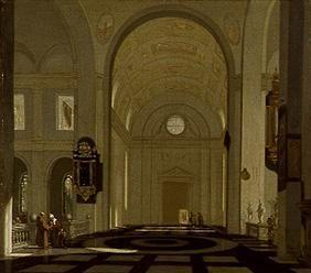 Inside of a renaissance church