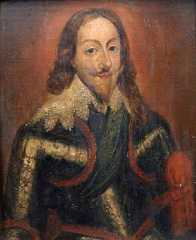 Portrait of King Charles I (panel)