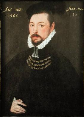 Sir Edmund Huddleston (1536-1606)