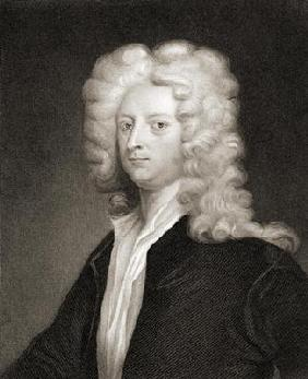 Joseph Addison (1672-1719), from 'Gallery of Portraits', published 1833 (engraving)