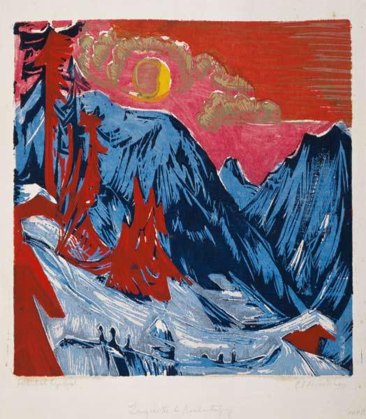 Winter Moonlit Night