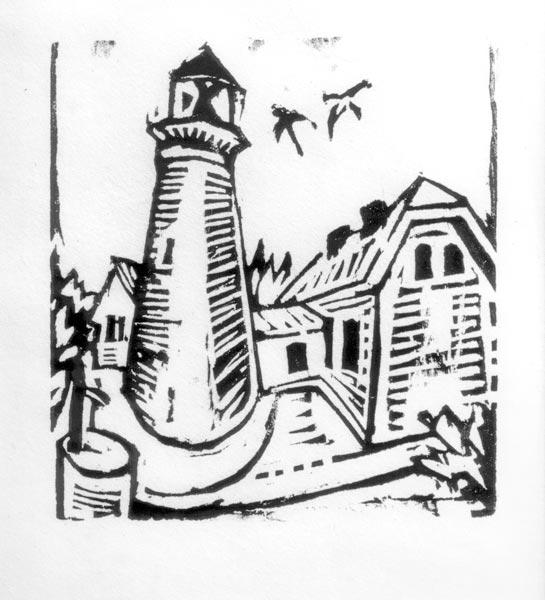 Lighthouse on Fehmarn