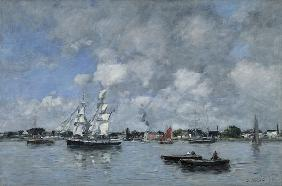 Bordeaux, Boats on the Garonne